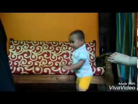 Small Boy Dancing On  Marathi Song- Ala  Baburao