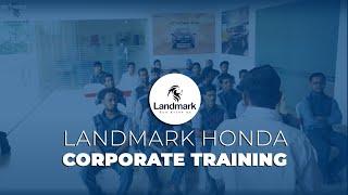 Landmark Honda - Corporate Training