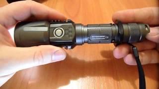 видео Фонарь Nitecore P25 (960 люмен)