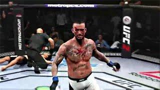 CM PUNK UFC DEBUT !! CM Punk vs Micky Gall UFC 203 (UFC 2 Gameplay)