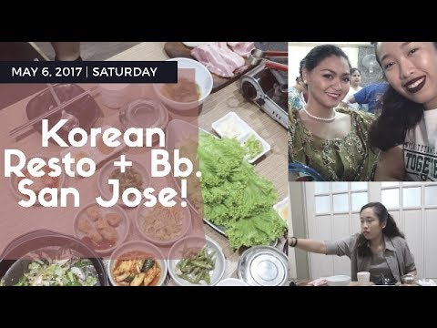 VLOG: Grami Korean Restaurant + Bb. San Jose 2017 Highlights! • Monica Navs • (Taglish)