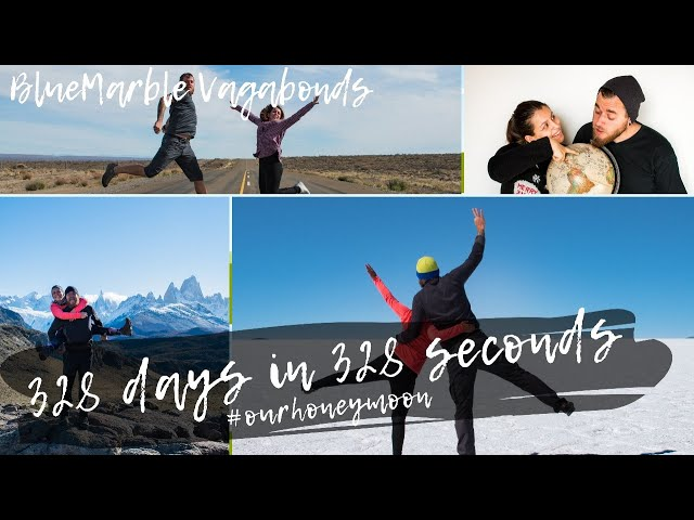 328 days in 328 seconds (honeymoon highlights) | #lajftrip