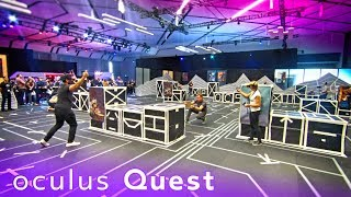 Oculus Quest WILL BLOW YOUR MIND! | Arena Size Gameplay