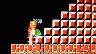 紅白機-超級瑪莉2代-3-1關-跳烏龜賺生命方法