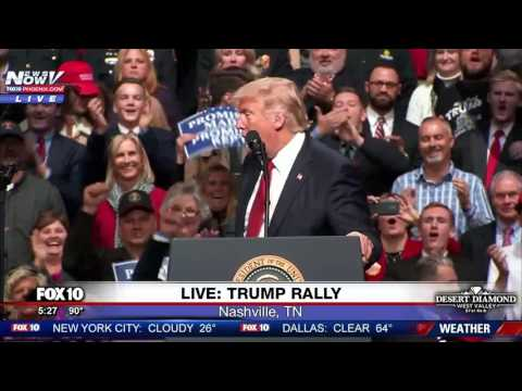 WATCH: Trump Takes A Dig At Hillary Clinton During Rally FNN