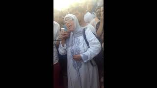 عمة شهيد لذي قتل عل يد قبطان درك ملكي بواد امليل