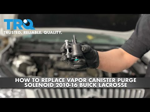 How To Replace Vapor Canister Purge Solenoid 2010-16 Buick Lacrosse