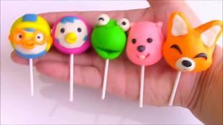 Play Doh Parody Song ♪Pororo Lollipop Finger Family Song ♪ Nursery rhyme