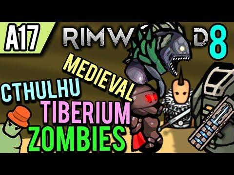rimworld-alpha-17-modded-|-basic-defenses-(lets-play-rimworld-/-gameplay-part-8)