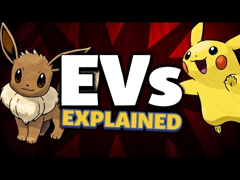 Pokémon Explained - EVs