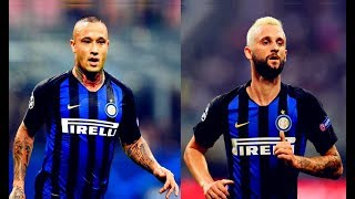 Radja Nainggolan And Marcelo Brozović vs Tottenham(18/09/2018)HD 720p by轩旗