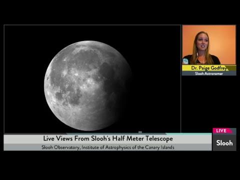 Mini Buck Moon Total Lunar Eclipse