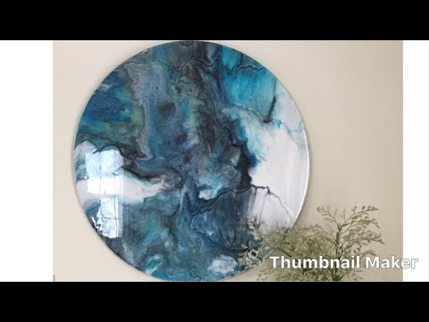 Resin Art_Painting_Dirty Pour / How to-for beginners