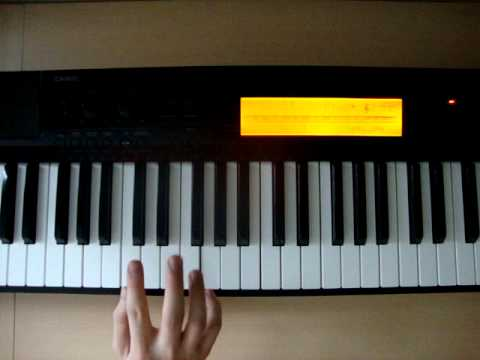 C5 - Piano Chord - How To Play