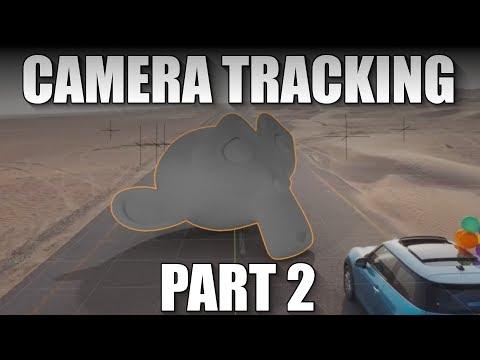 Blender 2.8 Camera Tracking Tutorial (part 2)