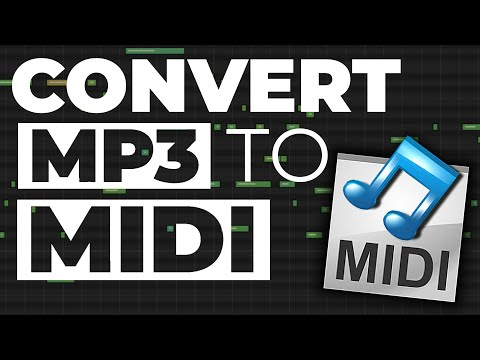 How To Convert MP3 To MIDI [Free / No Software]
