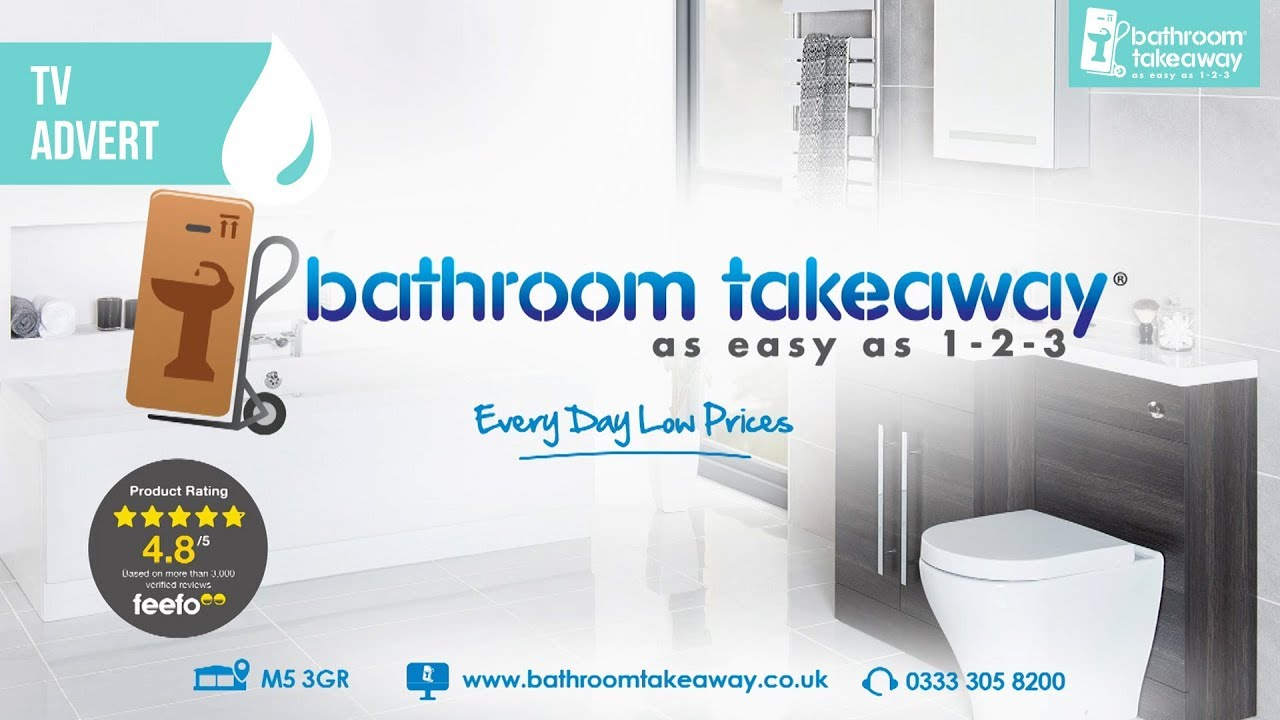 bathroom takeaway every day low prices tv advert september 2017