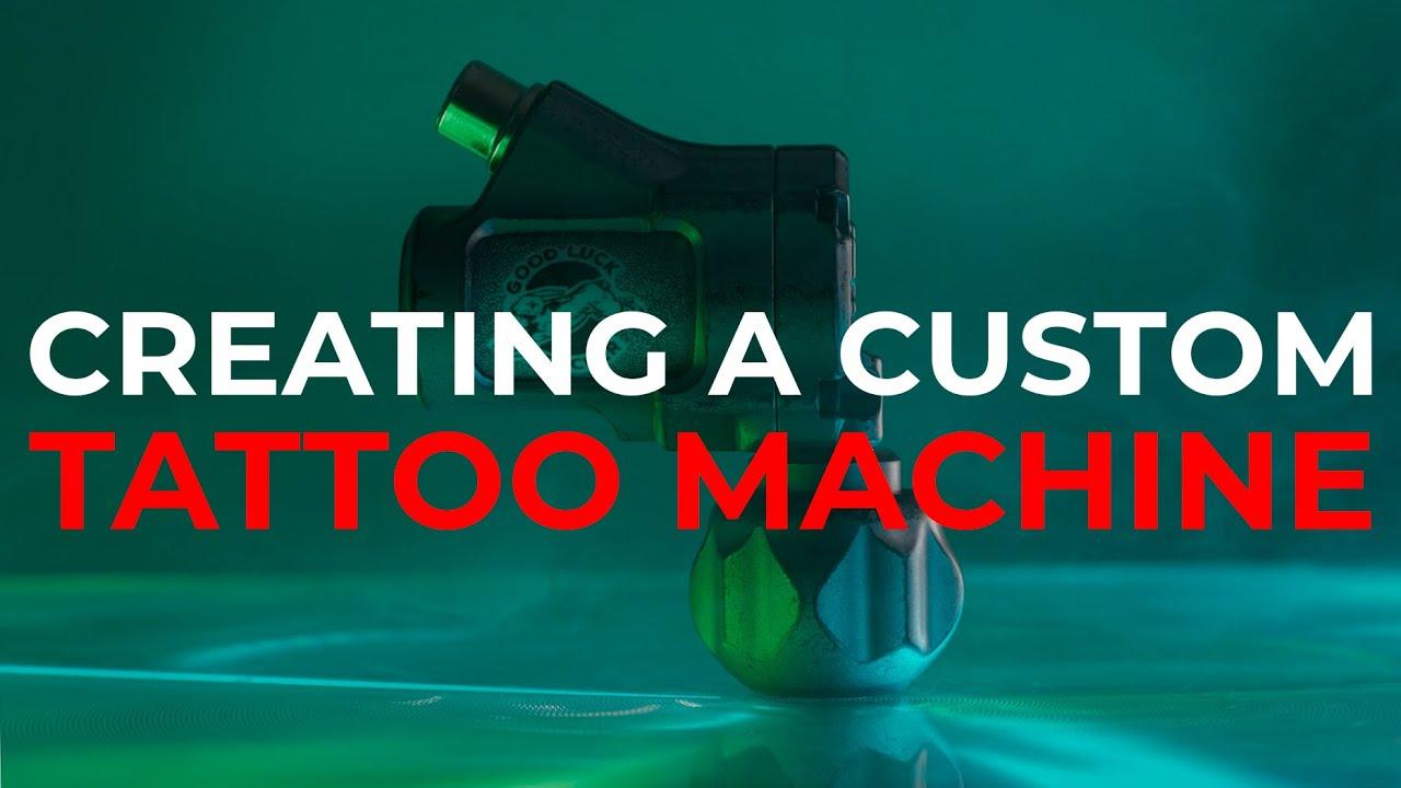 Creating a custom rotary tattoo machine Ultron C