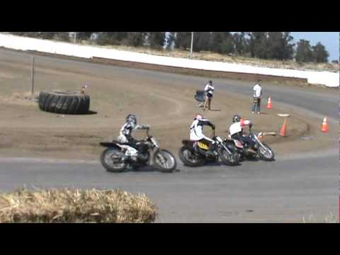 Randy Brunelli Perry Smith Dixon short dirt track flattrack Cora Speedway