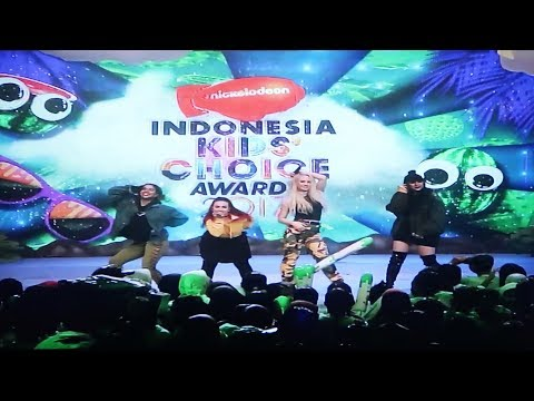 GRLBND LIVE PERFORMANCE AT KIDS CHOICE AWARDS INDONESIA - DE