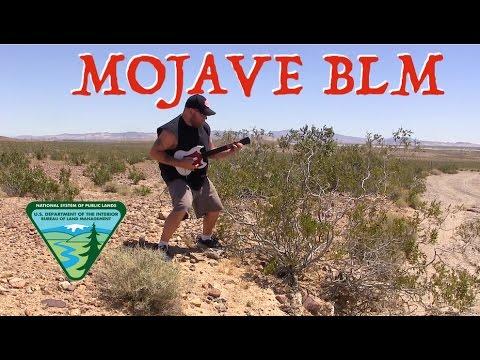 Free Camping in Mojave Desert