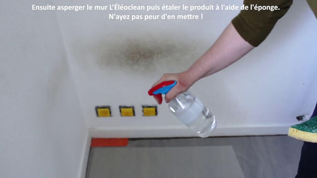 Lessiver Un Mur Avant Peinture nettoyer un mur avant de le peindre - youtube