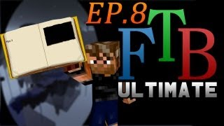 Temporary Base | FTB Ultimate Skyblock | (Feed the Beast Modpack) Ep.8