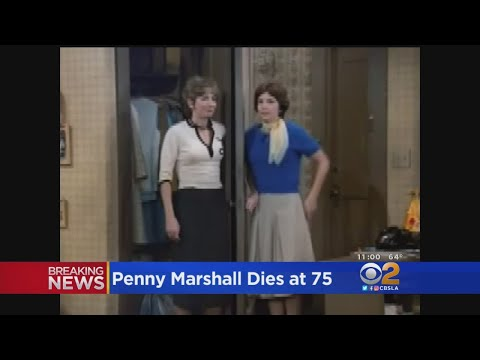 Bob Pickett - RIP Penny Marshall of Laverne and Shirley