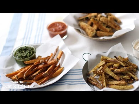 How to Make Vegetable Fries From the Test Kitchen