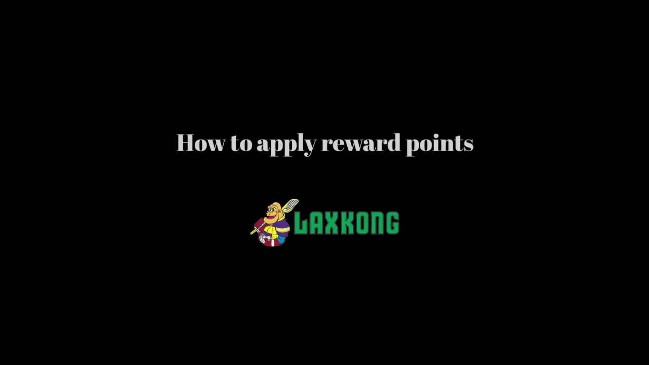 Reward points - Lax Kong USA - Your Authority for Lacrosse