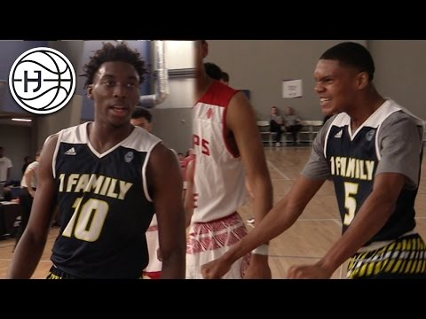 Ronaldo Segu and Nassir Little FEAR NONE! 1Family At Adidas Gauntlet Dallas