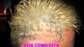 como deixar o cabelo branco platinado por aline linda wmv