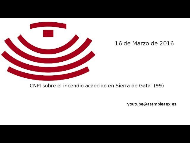 CNPI sobre el incendio acaecido en Sierra de Gata (99), 16-03-16