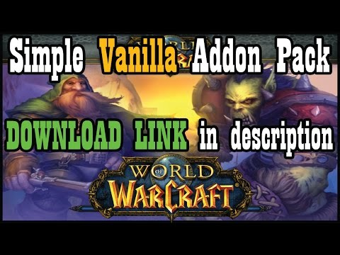 UI/Addon Pack for Vanilla / Classic WoW (Download in description) [ World of Warcraft]