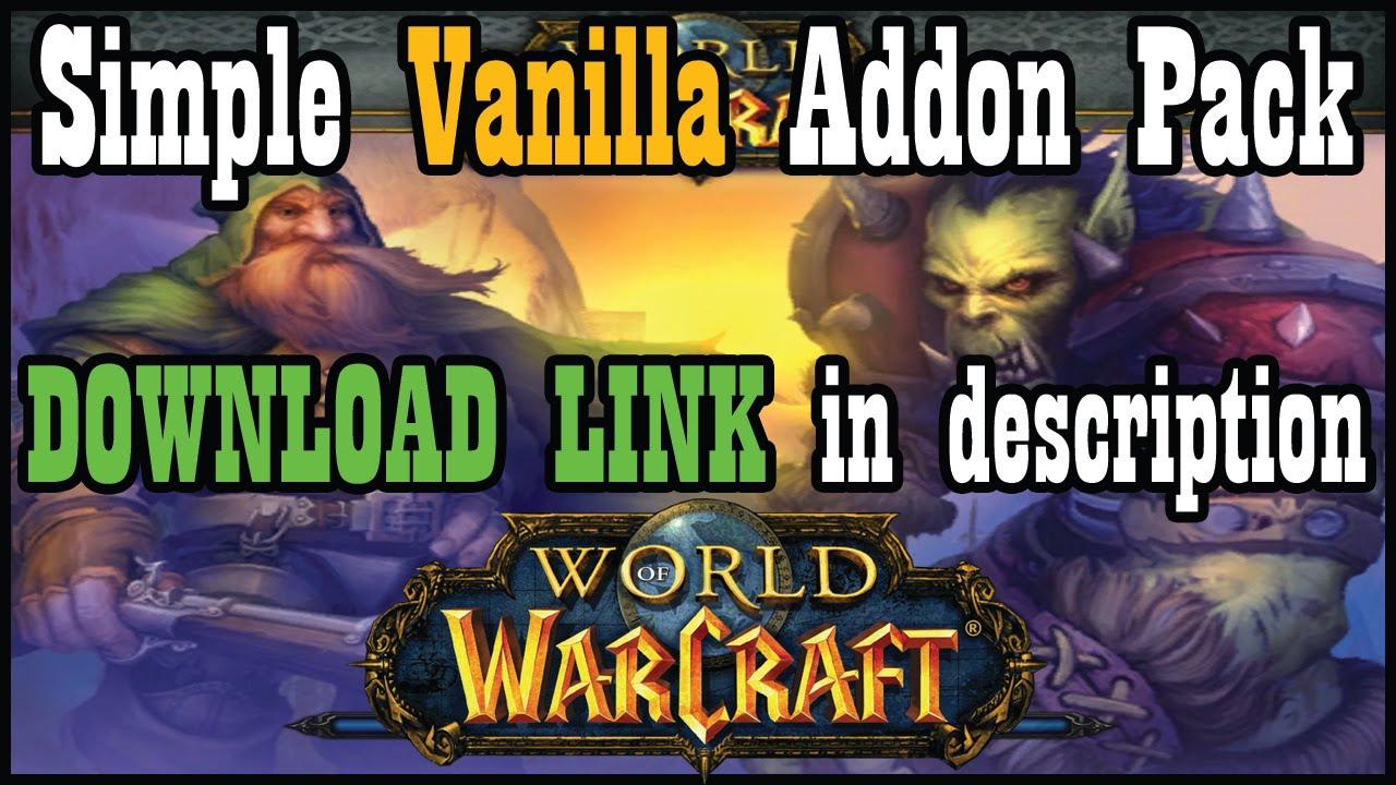 Uiaddon pack for vanilla classic wow download in description uiaddon pack for vanilla classic wow download in description world of warcraft youtube gumiabroncs Gallery