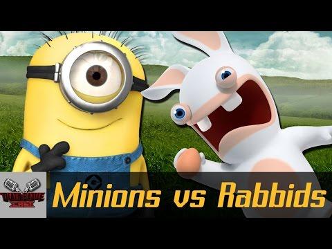MINIONS VS RABBIDS? | DEATH BATTLE Cast