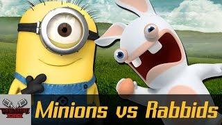 minions vs rabbids   death battle cast