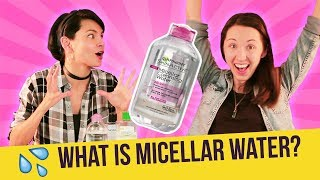 What is micellar water? The science behind how it works!