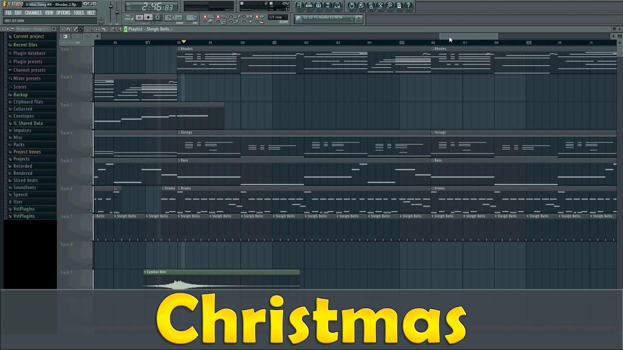 Christmas Rhodes Track Martin Gunnarsson Fl Studio 11 Youtube