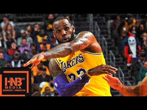 Los Angeles Lakers vs Charlotte Hornets Full Game Highlights | 12.15.2018, NBA Season