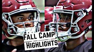 Alabama Crimson Tide Football: Watch Tua Tagovailoa and Jalen Hurts throw at practice