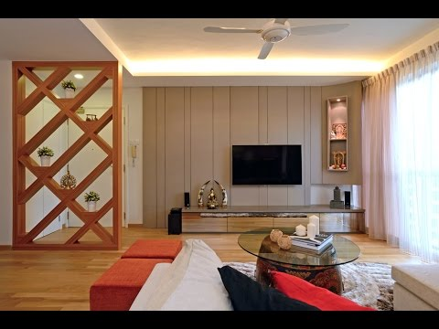 Indian interior design ideas living room youtube for Small apartment interior design india