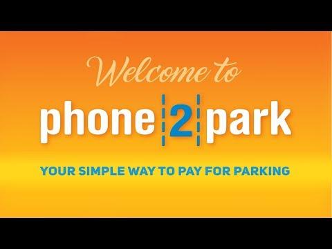 Wellington parking APP Phone2park User Guide