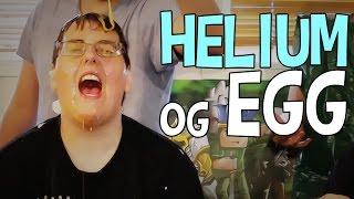 HELIUM OG EGG CHALLENGE - Lørdagskos Med Prebz Og Dennis
