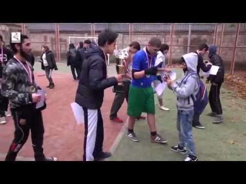Кубок «Айартуна» достался юношеской футбольной команде школы № 84 г. Тбилиси