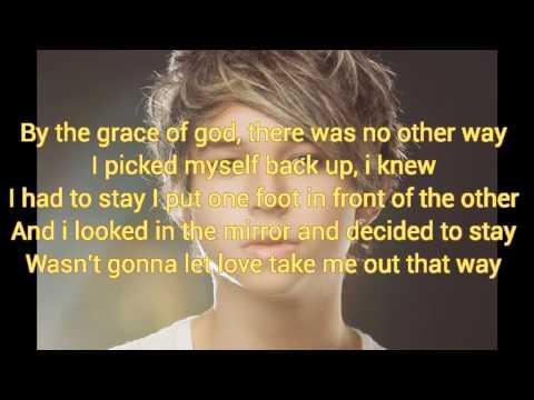 Tom J Williams - By the grace of god (lyrics)