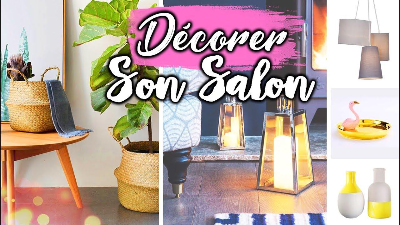 COMMENT DÉCORER MON SALON ? - YouTube