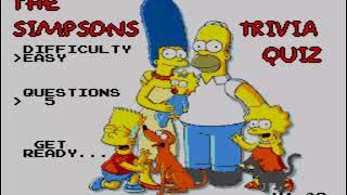 Simpsons Trivia SMS