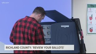 'Review your ballots:' South Carolina voters asked to double-check their choices