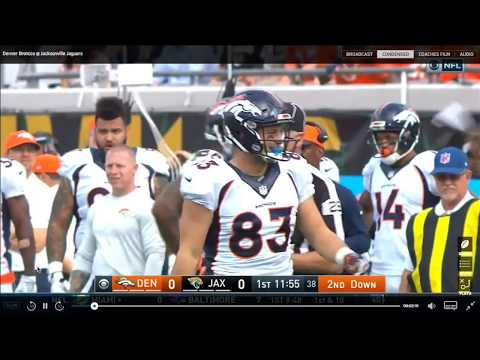 Paxton Lynch QB Denver Broncos Film Review vs Jaguars